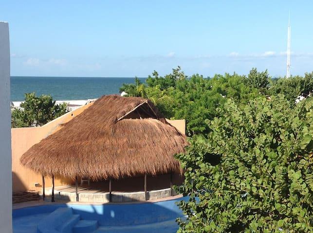 Gulf of Mexico BeachFront Apartment - Chicxulub Puerto - อพาร์ทเมนท์