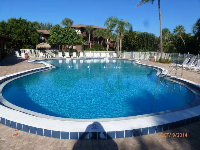 Two bedroom condo, Bowmans Beach - Sanibel - Daire