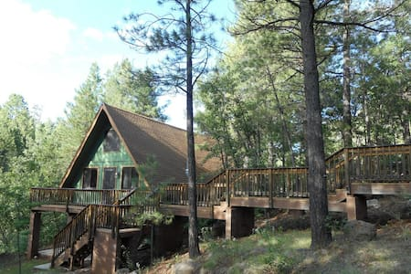Peaceful Cabin with Privacy and Panoramic Views - Munds Park - Cabana