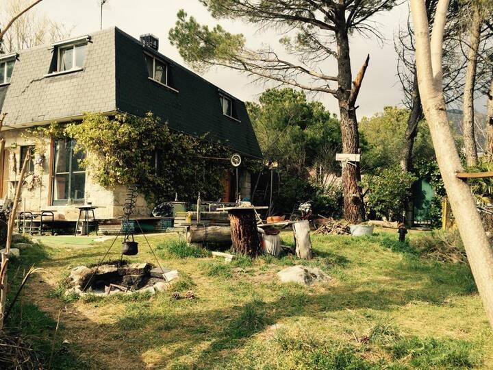 Habitacion en casa campo Mataelpino