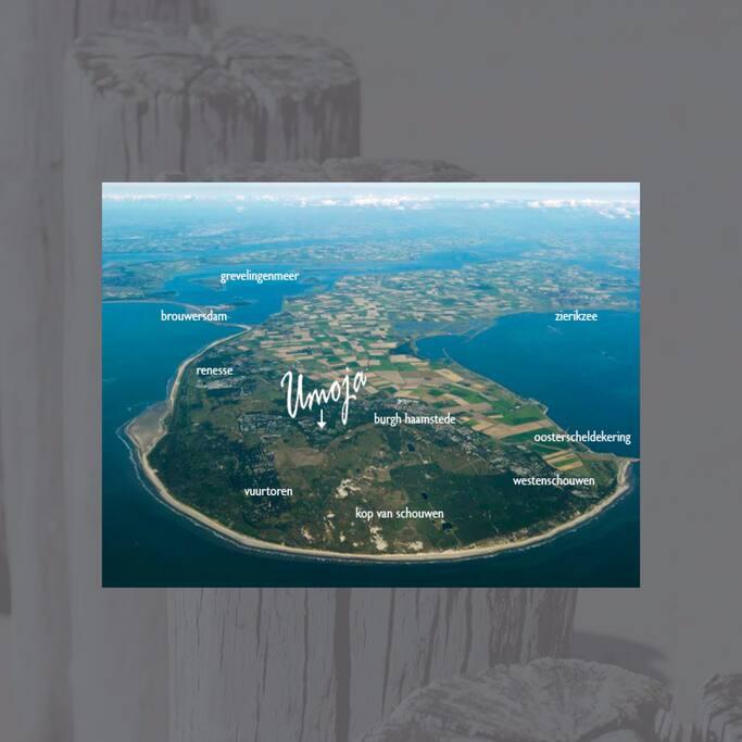 Umoja is gelegen op het Eiland Schouwen Duiveland en ligt ideaal nabij vele activiteiten en het strand.