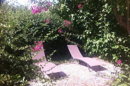 Charmant studio 35 m2 avec jardin - Gréoux-les-Bains