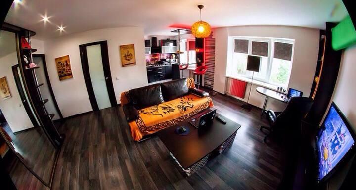 Удобная квартира-студия в центре