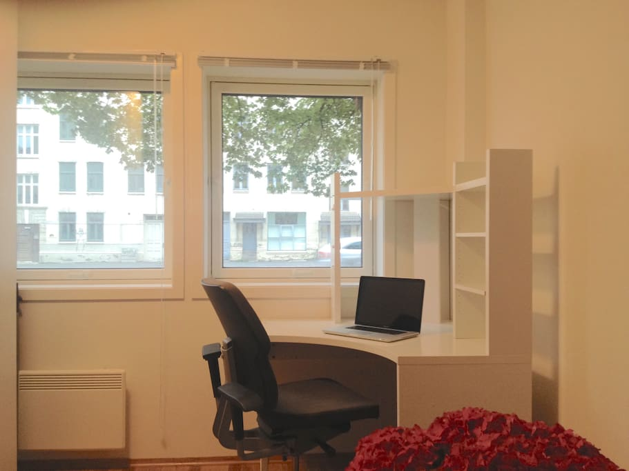 Office-space in accommodation room