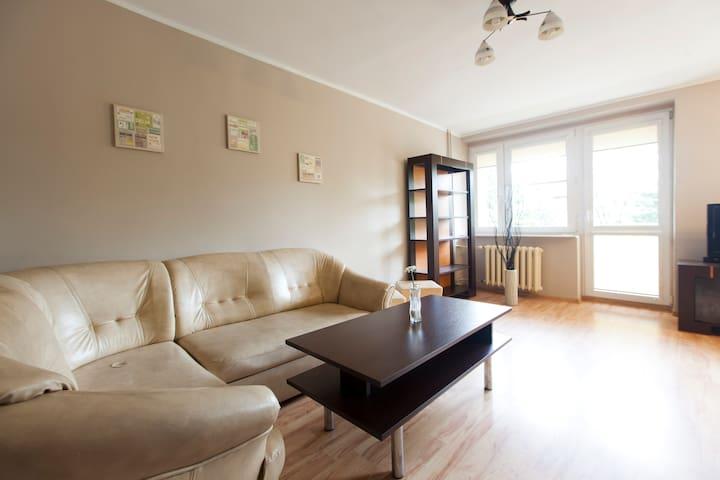 Sunny Big Apartment 57m2 - Wrocław - Apartament