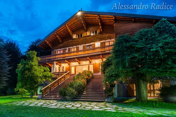 Villa Meridiana Luxury Chalet - Concenedo - Cottage