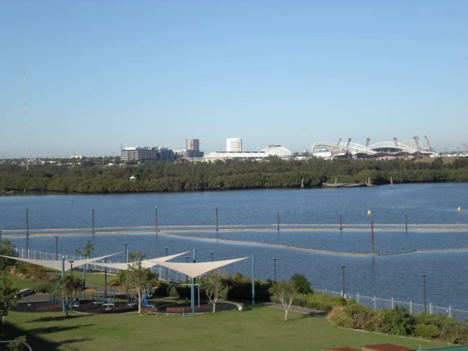 The fun of bicentennial park and the excitement of Olympic Park... all within a short walk or drive
