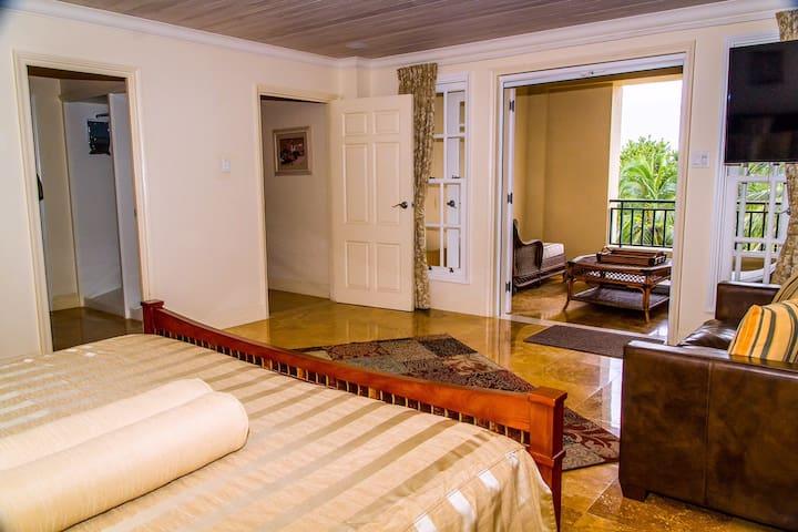 Master Bedroom w/ private terrace