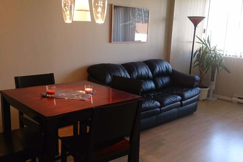 furnished cozy condo byward market condominiums for rent. Black Bedroom Furniture Sets. Home Design Ideas