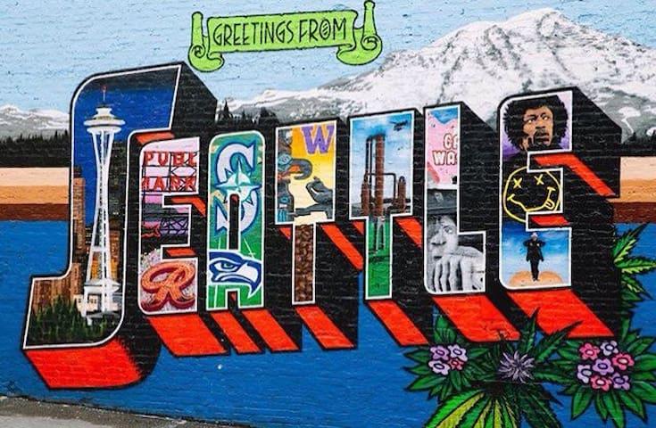 Prime Location to Explore Seattle!! - Seattle - Apartment