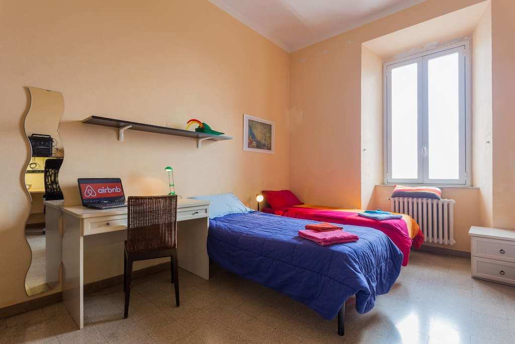 ITA: La stanza per due ospiti ENG: The room for two guests