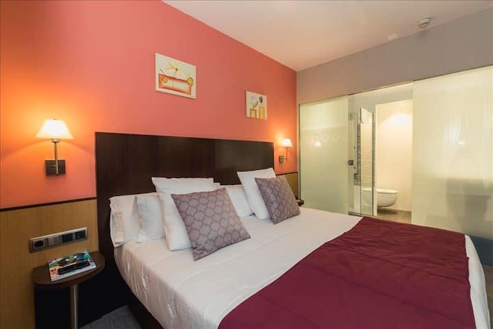 Habitación Doble en Hotel Ronda Lesseps