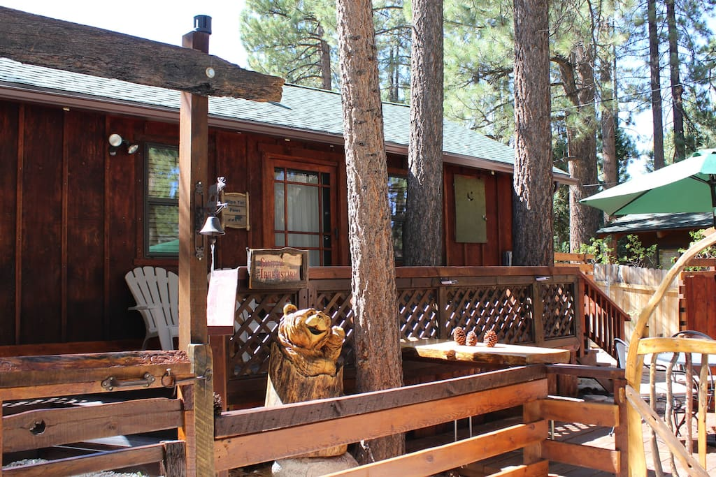 It 39 s simply irresistible romantic getaway for 2 cabins for Cabins for rent big bear ca