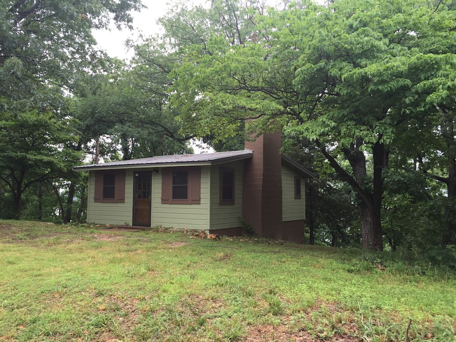 Grand lake ok cabin in the woods cabins for rent in for Grand lake oklahoma cabin rentals