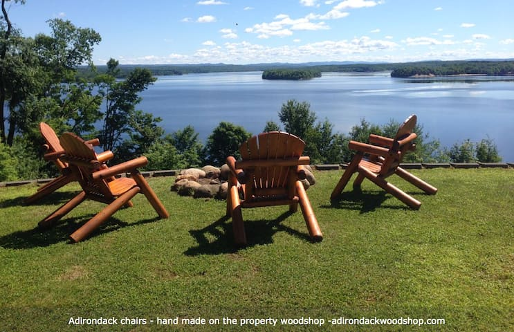 Spectacular Views-Adirondack Mountain & Lake views