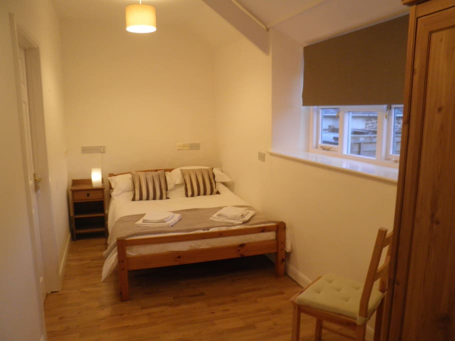Downstairs bedroom - peace away from everyone else!