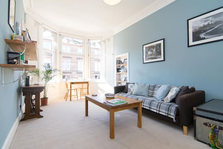 Bright and spacious West End flat