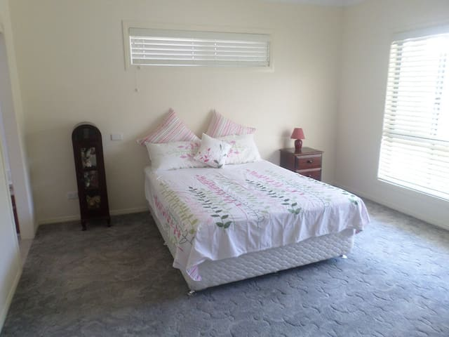 Yamba - waterfront accommodation.