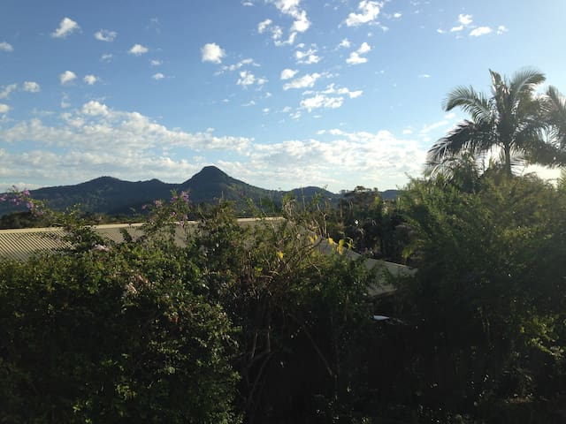 A Room with a View - Mullumbimby - Huis