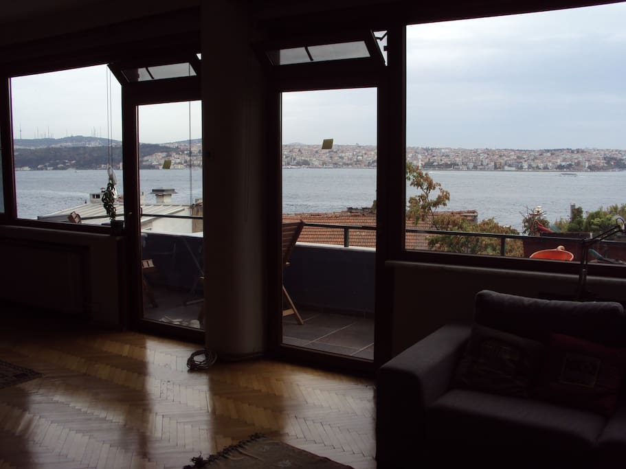 Sea View from Living Room and Terrace