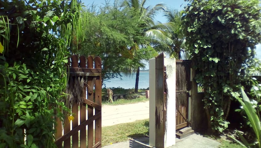 Two bedrooms in quiet beach house - Vera Cruz - Dom