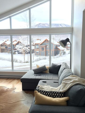 Amazing view !For skiers and riders - Beaupré - House