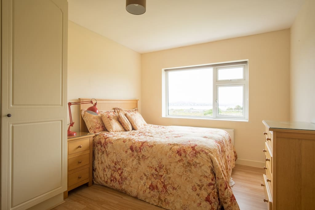 Spacious Master bedroom with private shower