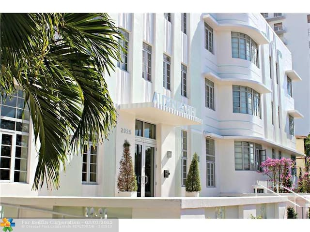 Boutique ArtDeco Studio Miami Beach - Miami Beach