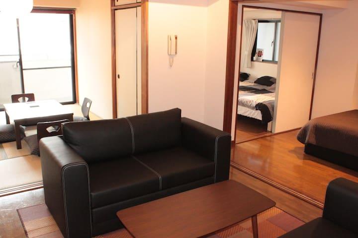 1min Asakusa & Sky tree w/9 beds - Taitō-ku - Apartment