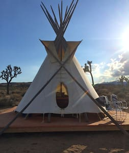 The Rising Sun Tipi at Lazy Sky (2) - Yucca Valley