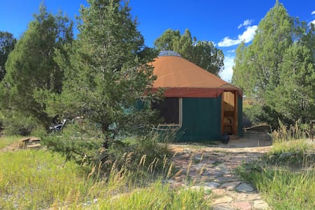 Cozy Yurt Bordering Mesa Verde