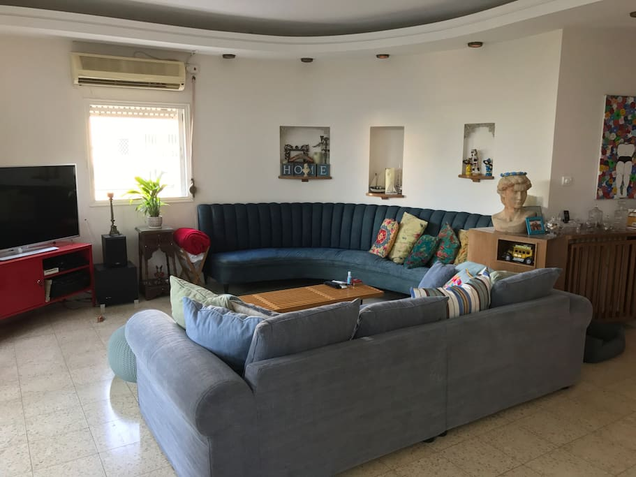 The living area