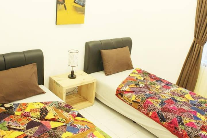 The Wayang Homestay : Deluxe Twin