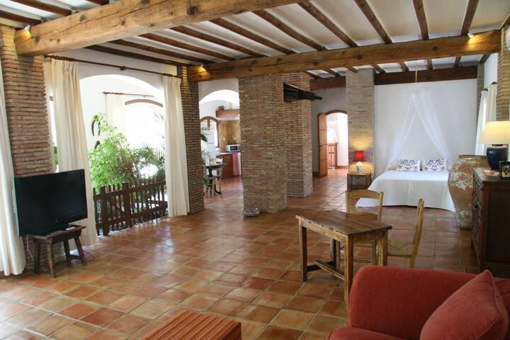 Romántico Loft en Villa con jardín