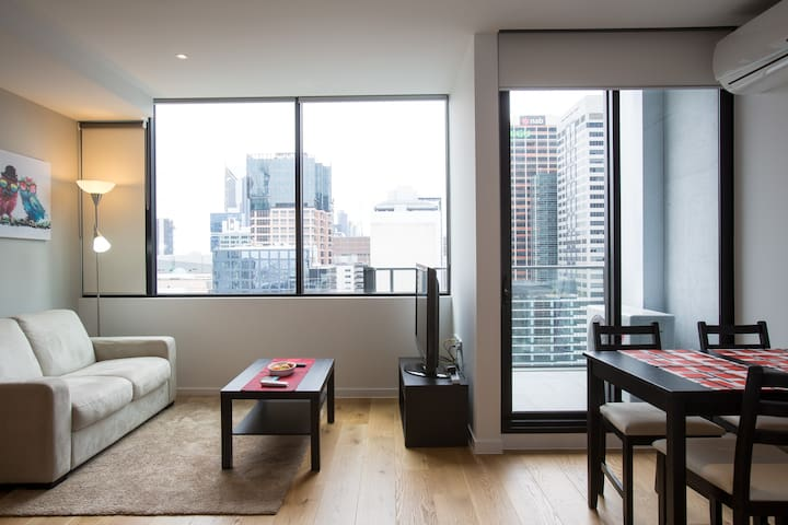 Luxurious Apartment Melbourne CBD - Melbourne - Flat
