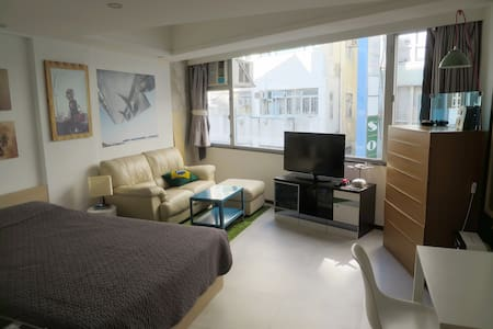 A clean and comfortable place within blocks of some of the best restaurants, lounges and bars in Hong Kong. 10 minute walk/escalator ride to either Central and Sheung Wan MTR.