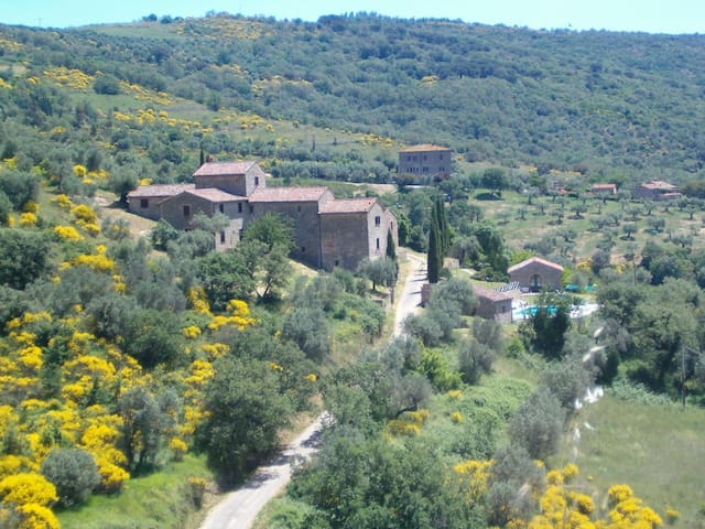 Borgo Monteluce - villa 25 sleeps  - Passignano Sul Trasimeno - บ้าน