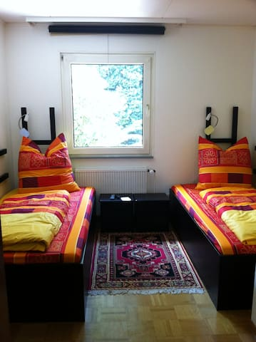 2 bed room, Barbecue Place, Wifi   - Altenstadt - บ้าน