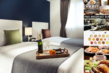 TWIN ROOM/FREE BREAKFAST&WIFI&WATER - Bed & Breakfast