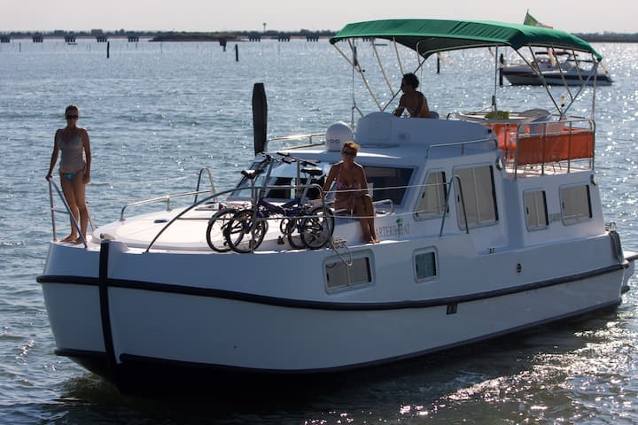Your floating flat in Chioggia