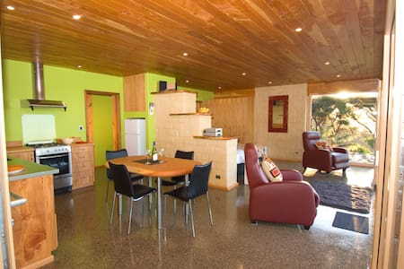 Little Greenie, Eco-house, Golden Bay - Wainui Bay - Haus