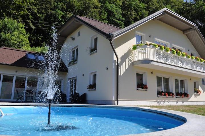 DOBRA VILA with private spa center