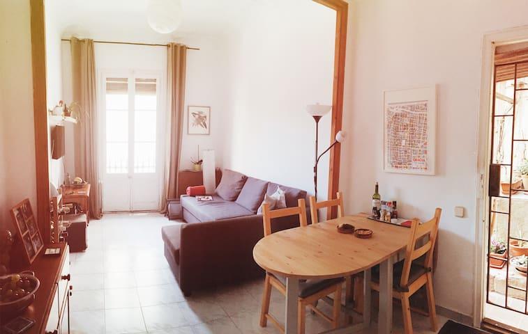 Nature & Charm in Gracia - Barcelona - Apartamento