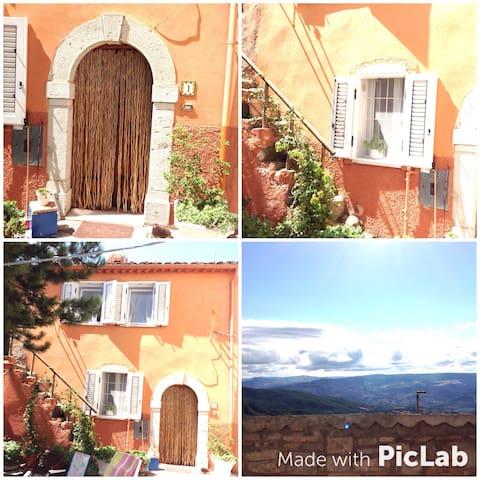 Casa 1000 metri con vista Appennini
