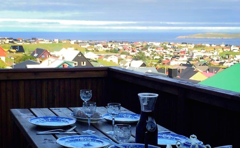 Ferienwohnung  mit Meerblick - Tórshavn - Flat