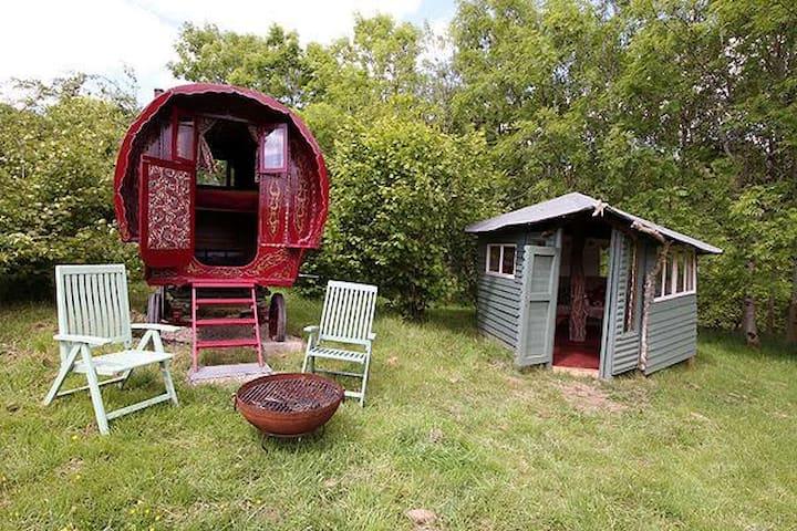 Gypsy caravan, Nr Dartmoor - Northlew - Overig