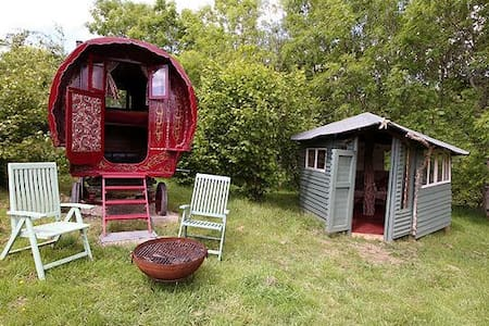 Gypsy caravan, Nr Dartmoor - Northlew