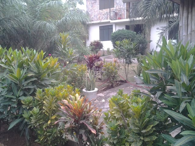 Garden Flat for 4 with Vegan Cafe - Accra - Apartment