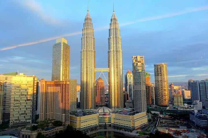 1# 2mins to KLCC @ Soho + FREE WiFi - Kuala Lumpur - Apartamento
