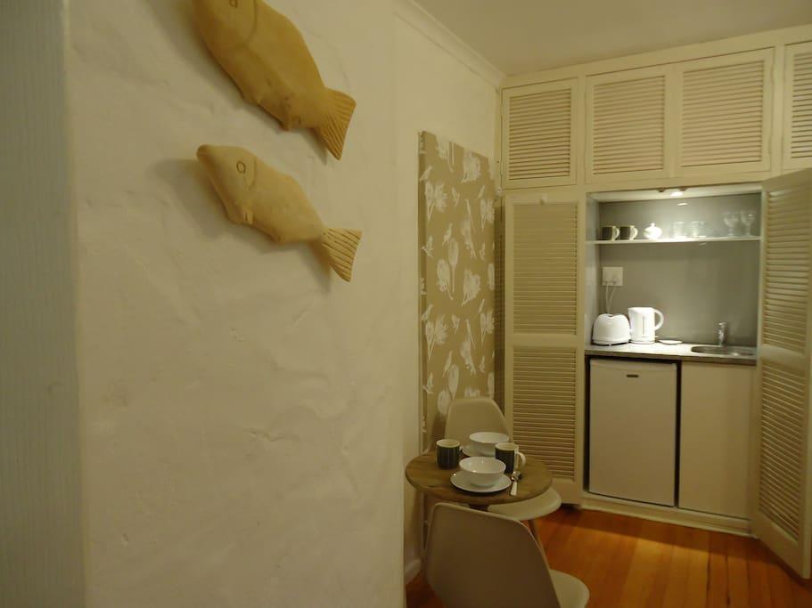 Kitchen-in a cupboard